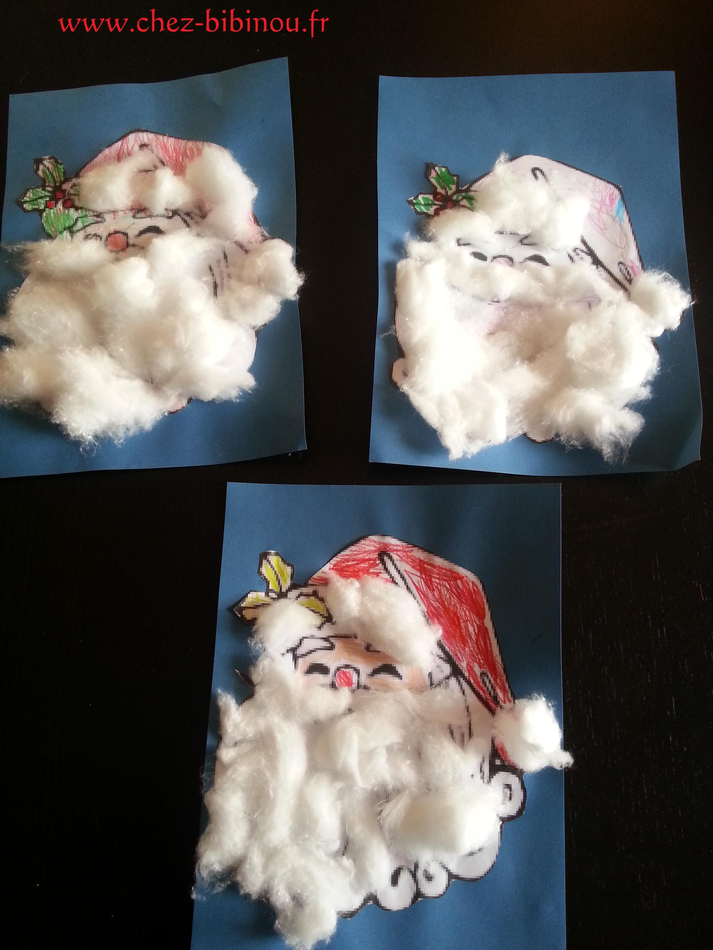 Un bonnet rouge et une barbe blanche...