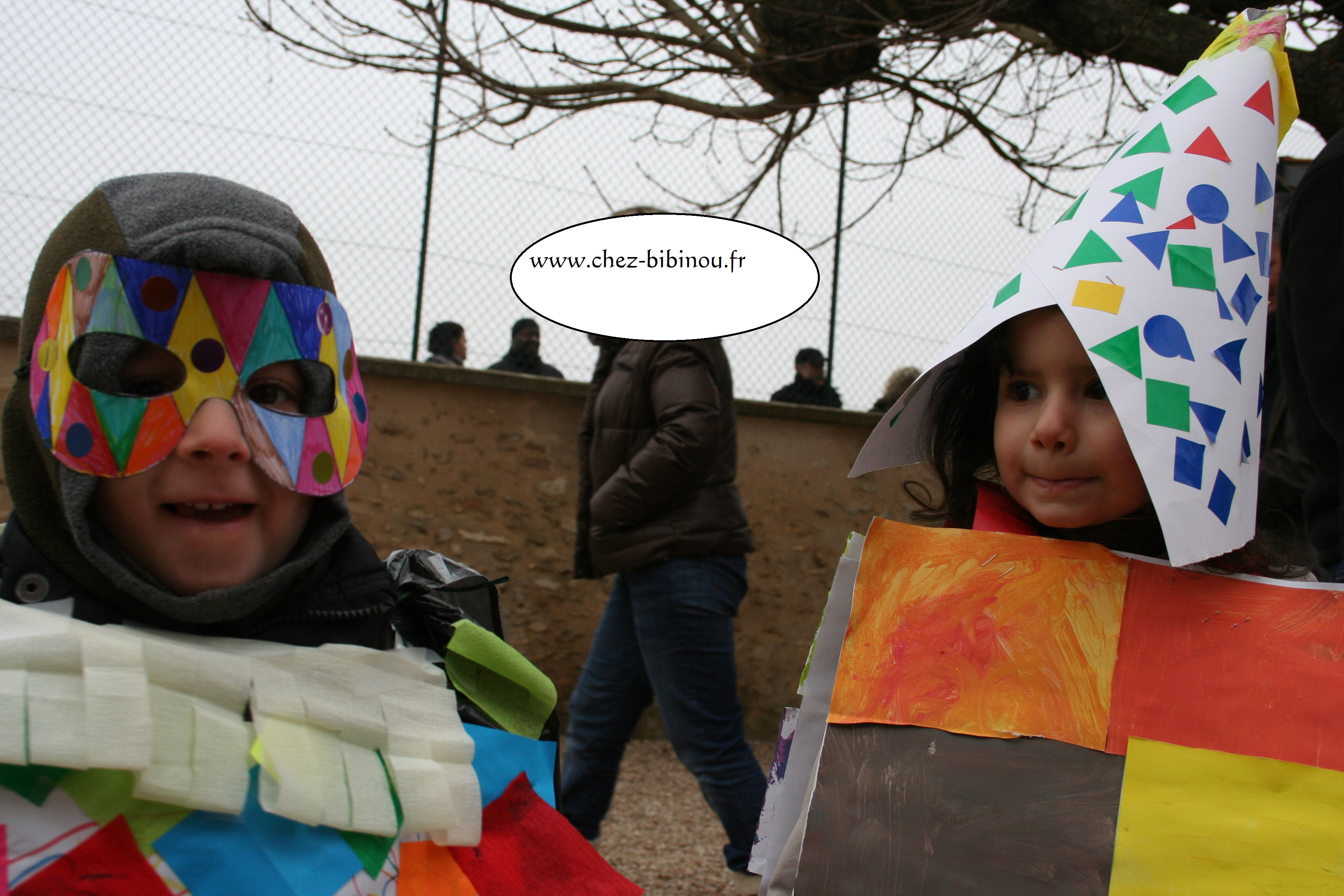 Carnaval de l'école à Emancé