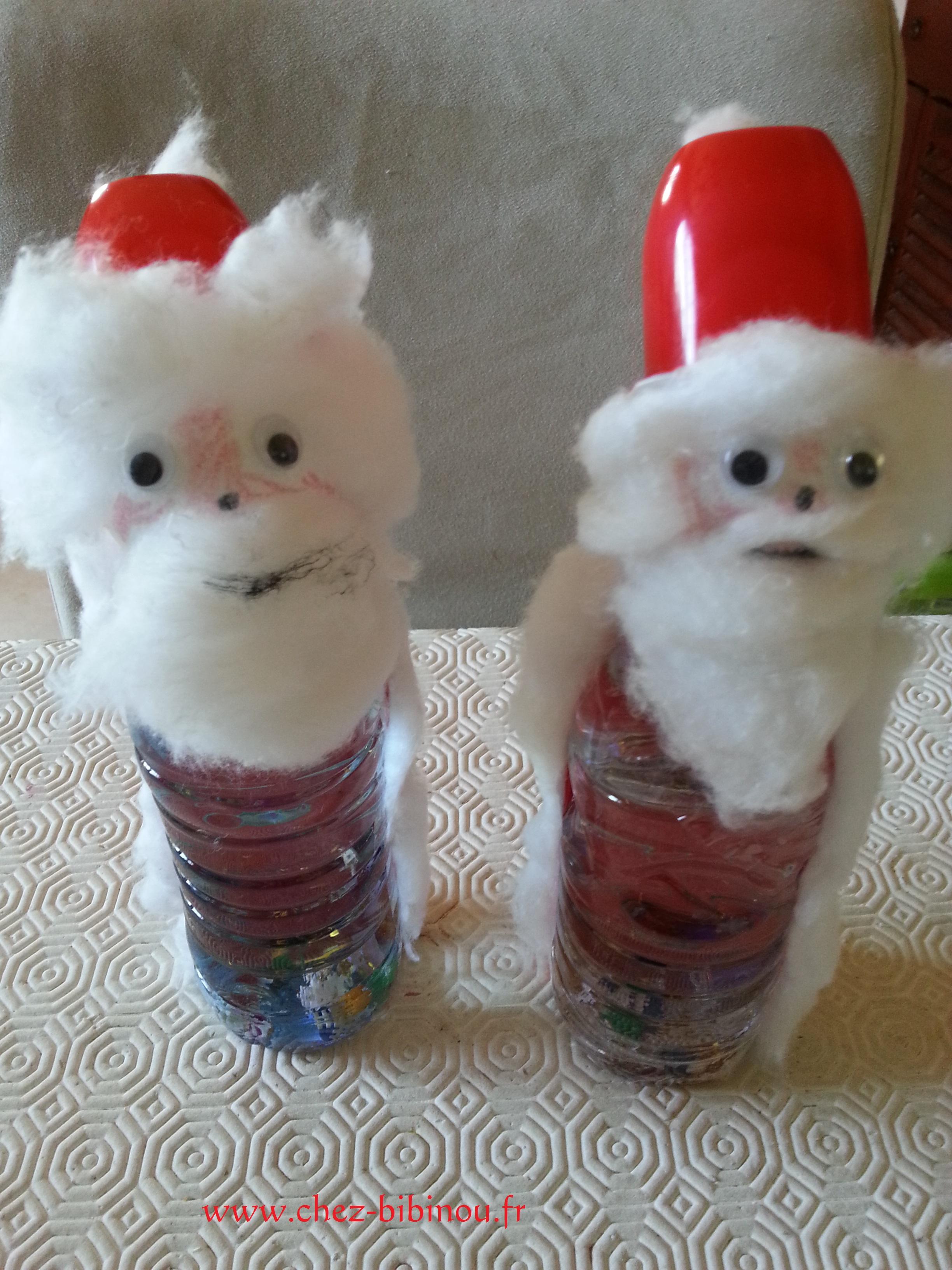 Père Noël et boule de neige