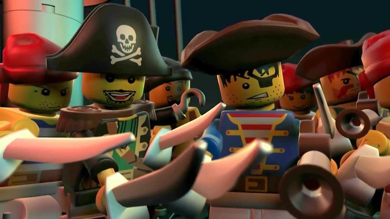 Nanie, des Legos et... des Pirates