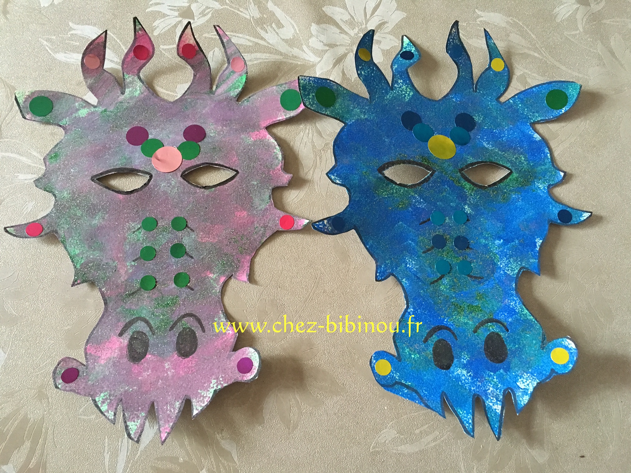 Masque de dragon (pour petits)