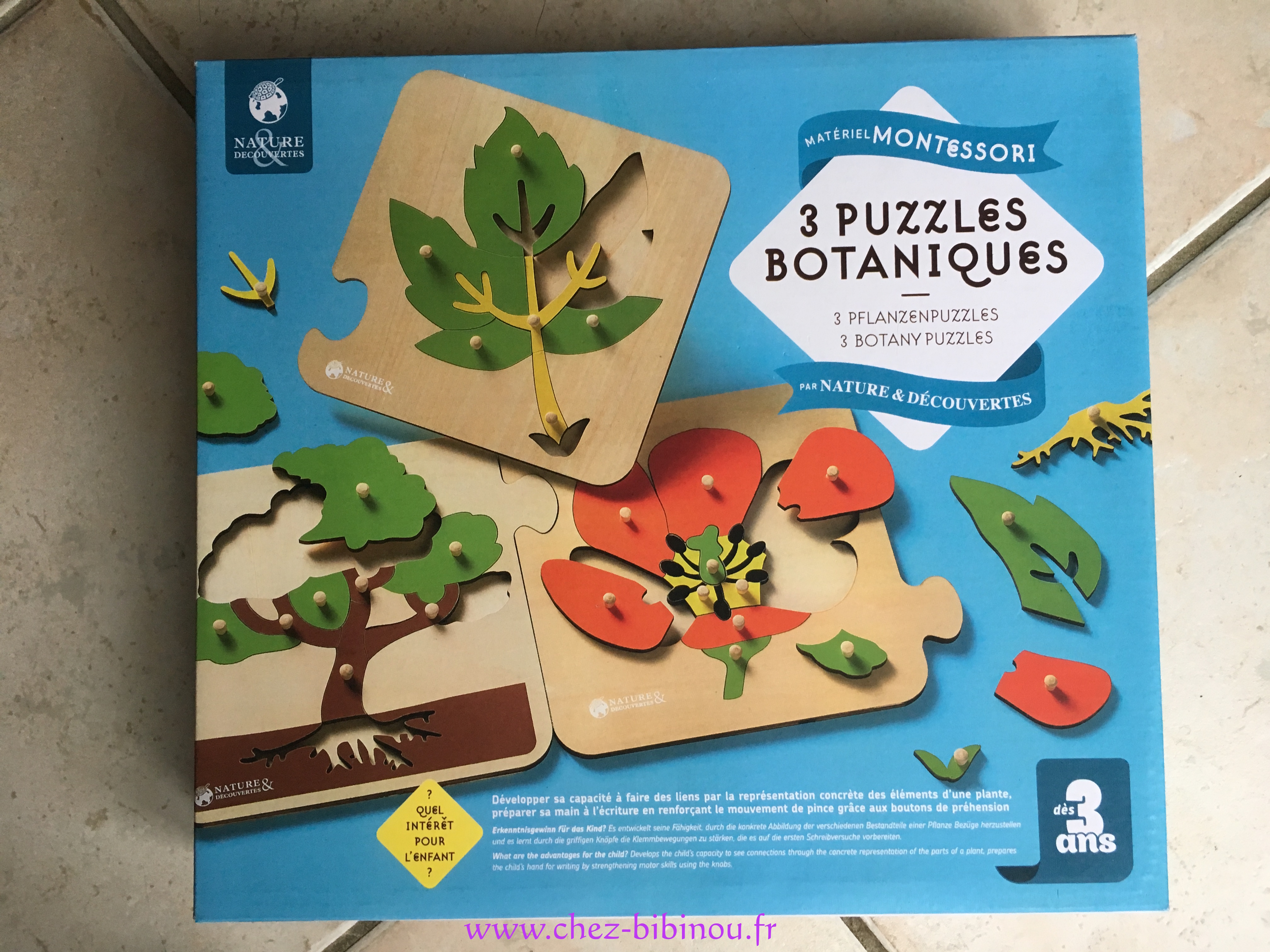 "Puzzles ""Botanique"""